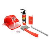 Brandweerset Deluxe met Helm_