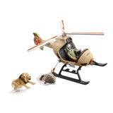 Schleich Reddingshelikopter voor Dieren_