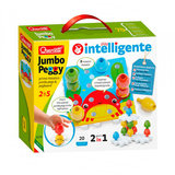 Quercetti Jumbo Insteek Pinnen, 24dlg._