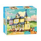 Playmobil Spirit 9475 Lucky's Huis_