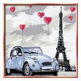 Schilderen op Nummer - Parijs_