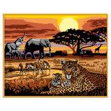 Schilderen Op Nummer Afrikaanse Impressie_