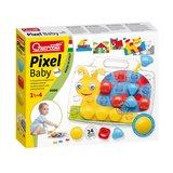 Quercetti Pixel Baby Insteekmozaïek Slak_