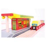 Houten Rails - Dorpsstation_