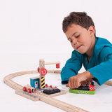 Houten Rails - Laadstation Steenkool_