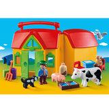 Playmobil 6962 Meeneemboerderij met Dieren_