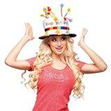 Hoed Happy Birthday_