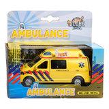 Ambulance met Licht en Geluid_