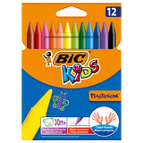 BIC Kids Plastidecor Kleurkrijt, 12st._