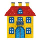 Hama Strijkkralenbordje - Huis_