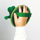 Kikker Vang-Werp Spel met Klittenband_