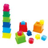 Playgo Sorteer en Leer Stapelblokken_