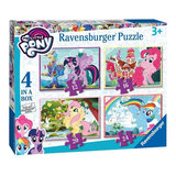 My Little Pony Puzzel, 4in1_