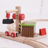 Houten Rails - Steenkool Mijn_
