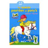 Plakken en Kleuren - De leukste Paarden en Pony's, 4-6 jaar_