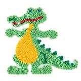 Hama Strijkkralenbordje - Krokodil_
