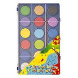 Waterverfset, 18 kleuren_