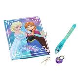 Disney Frozen Dagboek met Geheimschrift Pen_