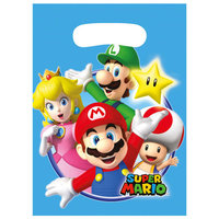 Super Mario Uitdeelzakjes, 8st.