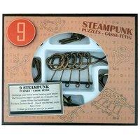 Steampunk Breinpuzzels Bruin, 9st.