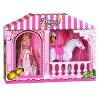 Prinses met Paard