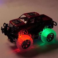 Terreinwagen met Licht - Rood