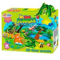 Vloerpuzzel Jungle 3D, 55st.