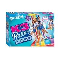 K3 Puzzel Roller Disco met Poster