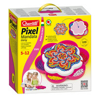 Quercetti Pixel Art Mandala, 1200 pins