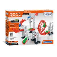 Clementoni Action & Reaction - Startset, 50dlg. Knikkerbaan