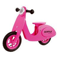 Houten Scooter Simply - Roze