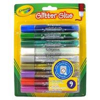 Crayola Glitterlijmtubes, 9st.