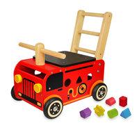 I'm Toy Loop- en Duwwagen Brandweer