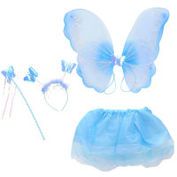 Verkleedset Vlinder Blauw