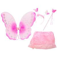 Verkleedset Vlinder Roze