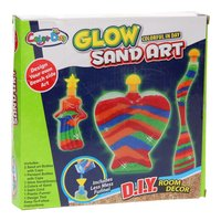 Zandkunst Glow in the Dark
