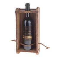 Vintage Houten Wijn Houder