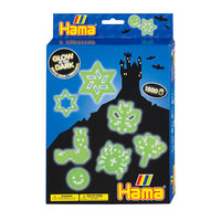 Hama Strijkkralenset - Glow in the Dark, 1500st.