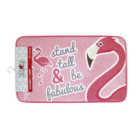 Fleece Kleedje Flamingo, 75x45cm