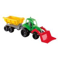 Ecoiffier Tractor met Aanhangwagen