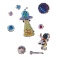 Stickers Ruimtevaart Glinsterend