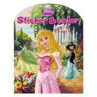 Disney Sticker & Color - Disney Prinses