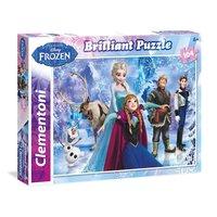 Clementoni Brilliant Puzzel Disney Frozen, 104st.
