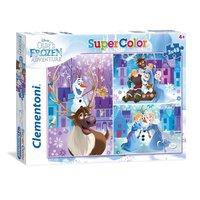 Clementoni Puzzel Disney Frozen, 3x48st.