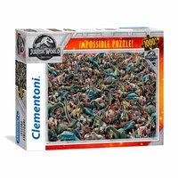 Clementoni Impossible Puzzel Jurassic World, 1000st.