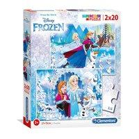 Clementoni Puzzel Disney Frozen, 2x20st.