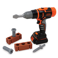 Smoby Black & Decker Accu Boormachine