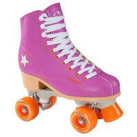 Hudora Disco Rolschaatsen Paars/Oranje, maat 35
