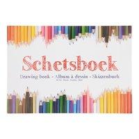Schetsboek A4, 80 vel