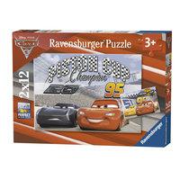 Disney Cars 3 Puzzel, 2x12st.